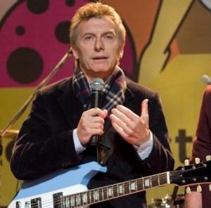 mauricio macri guitarra frio parabuenosaires.com