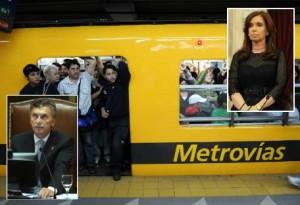 Macri Cristina CFK subtes parabuenosaires.com