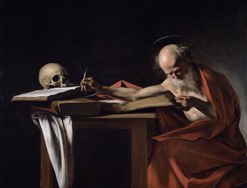 Caravaggio-San-Jeronimo-escribiendo-parabuenosaires
