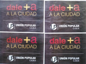 dale + a  a la ciudad massa union popular