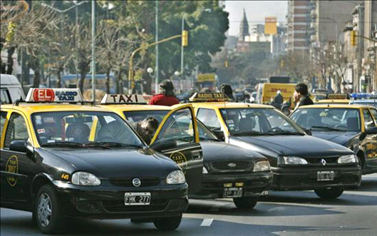 taxis aumento