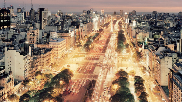 buenos-aires-traffic-city-night-argentina