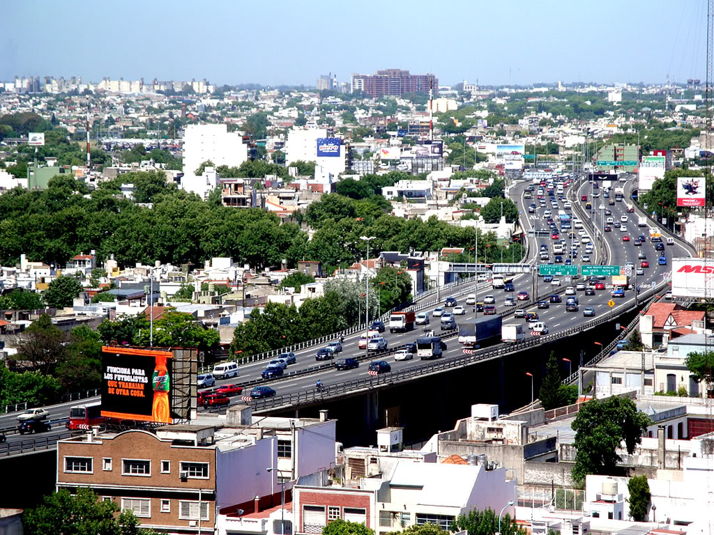 Resultado de imagen para autopista 25 de Mayo