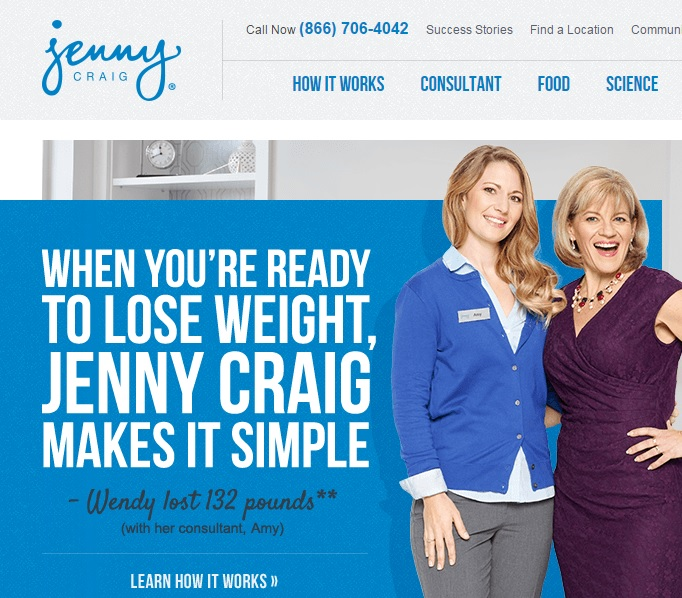 weight watchers and jenny craig