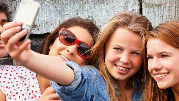 selfie adolesc