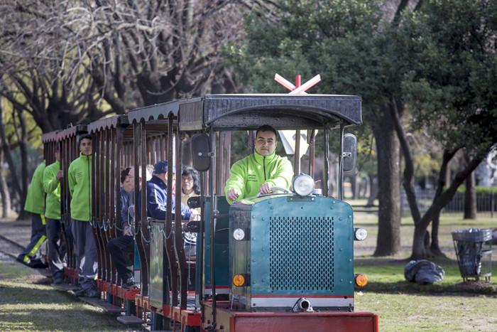 Tren del Parque Avellaneda. Fotos Andrés P. Moreno / prensa Mayep GCBA