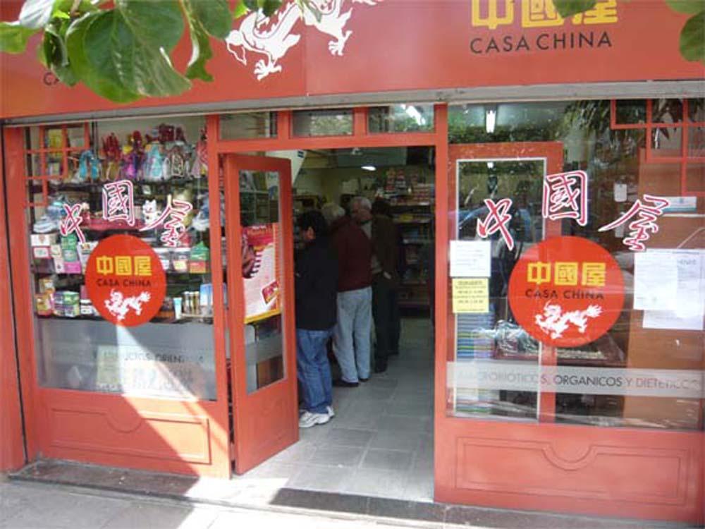 Barrio Chino casa china