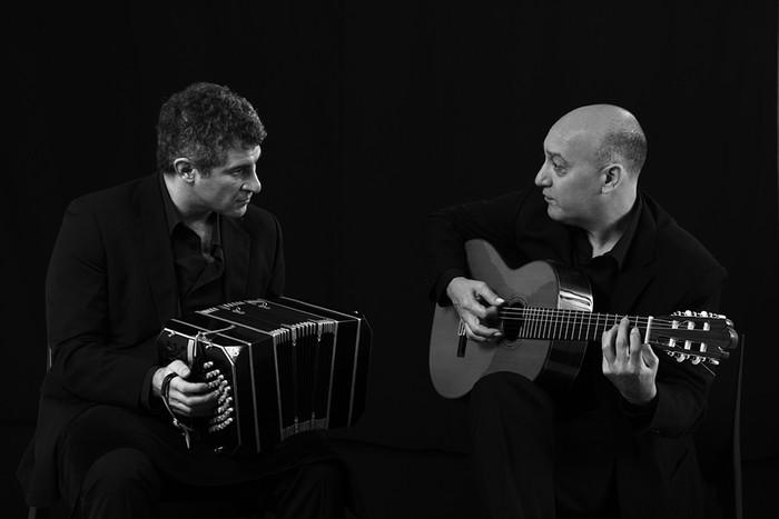 Pablo Mainetti y César Angeleri,