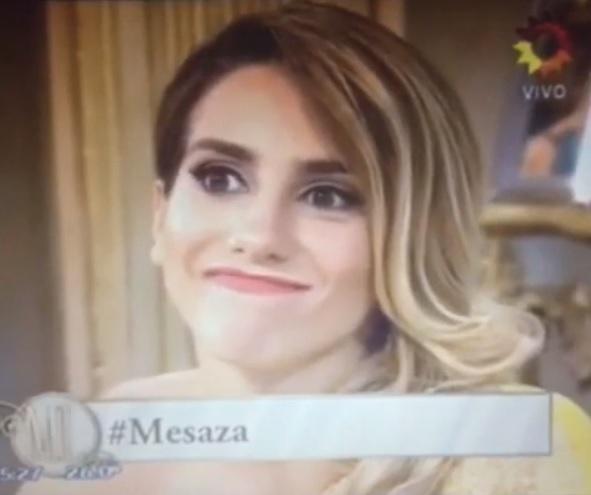 Cinthia Fernández  expresion