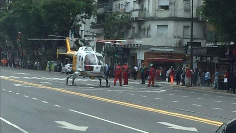 helicóptero palermo