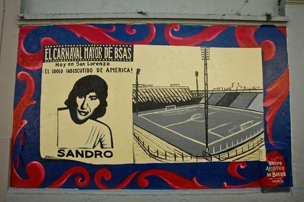 sandro mural