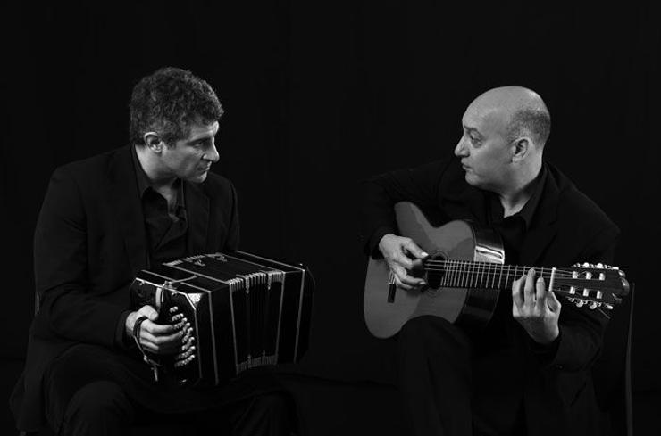 Pablo Mainetti y Cesar Angeleri