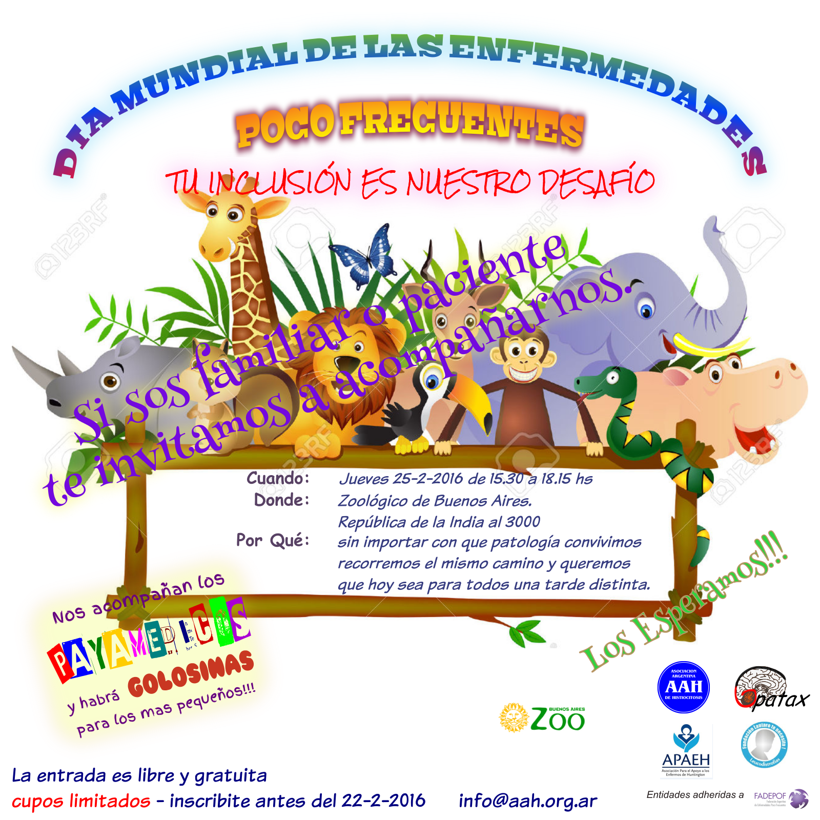 INVITACION EVENTO ZOO