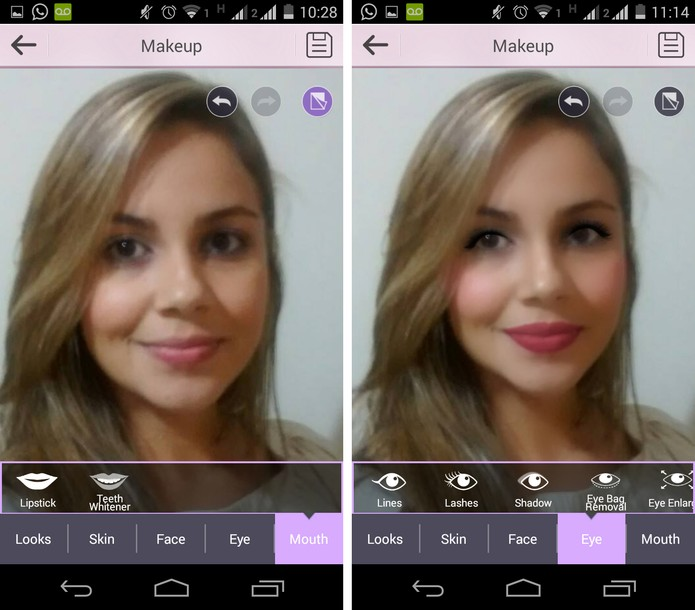 YouCam Make Up2