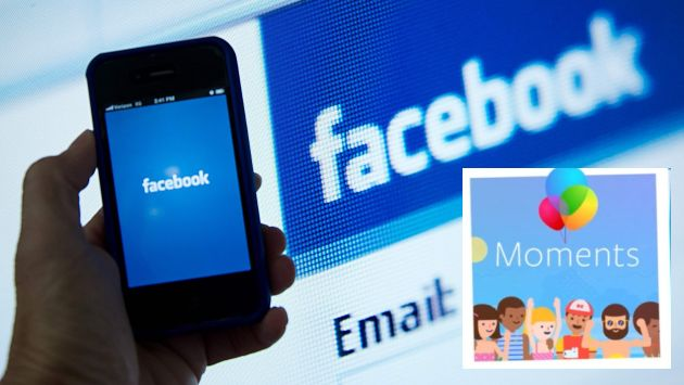 """(FILES) This file photo taken on May 10, 2012 shows a view of and Apple iPhone displaying the Facebook app's splash screen in front of the login page in Washington, DC. Facebook on May 10, 2016 denied allegations from a former news curator that it scrubs its site of articles by and about political conservatives. Tech news outlet Gizmodo reported Monday that a former news curator at the social media giant has alleged that articles from politically conservative outlets -- particularly when written about conservative subjects -- were deliberately omitted from Facebook's """"trending news"""" sidebar of popular stories. / AFP / KAREN BLEIER"""