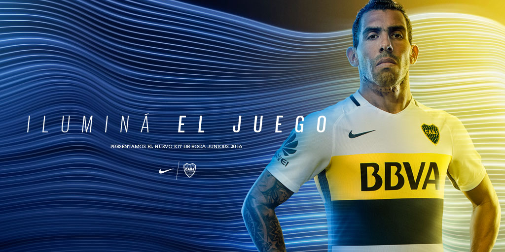 Boca Juniors Tévez Away T