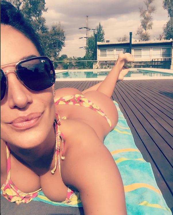 silvina escudero y una selfie para el infarto | noticias de