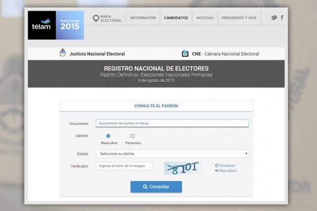 Todos los documentos de identidad serán válidos para votar