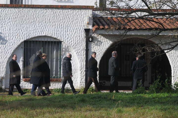 Cierran el convento donde López escondió los bolsos con US$ 9 millones