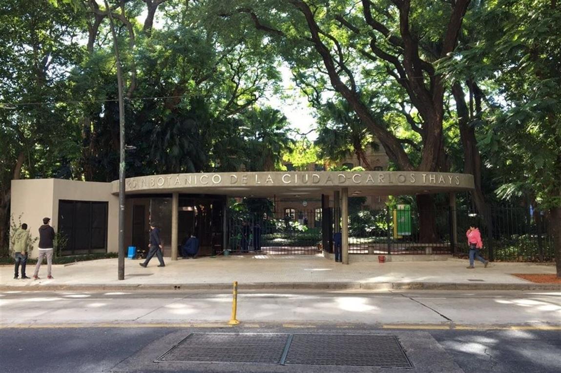 Pese al fuerte rechazo el ingreso principal al jard n for Costo entrada jardin botanico