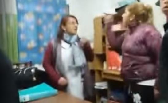 Pidieron la detención de la mujer que agredió a una maestra