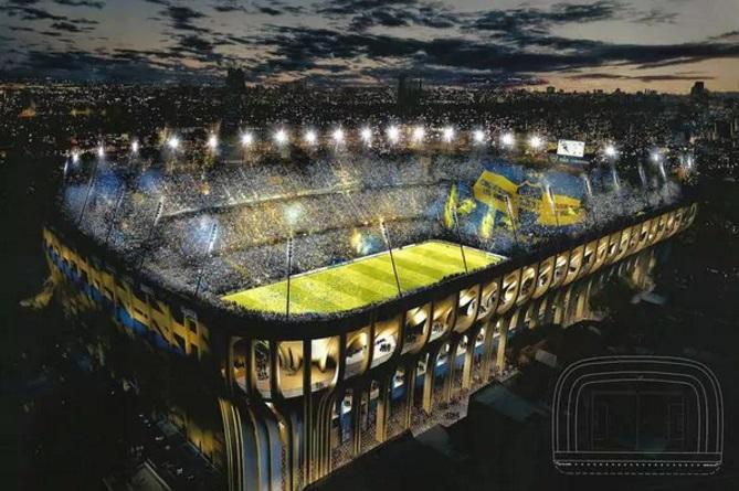 el proyecto que detalla como ser a el nuevo estadio de