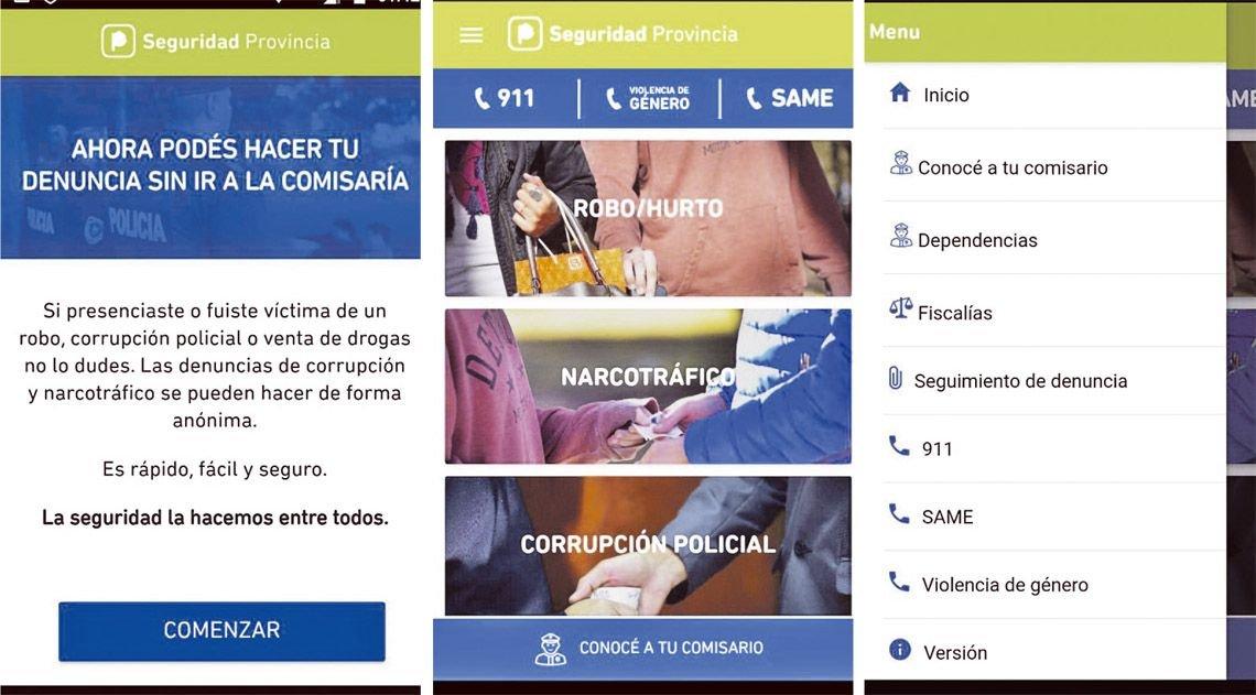 Con la receta de Massa, Vidal presenta una app para denuncias