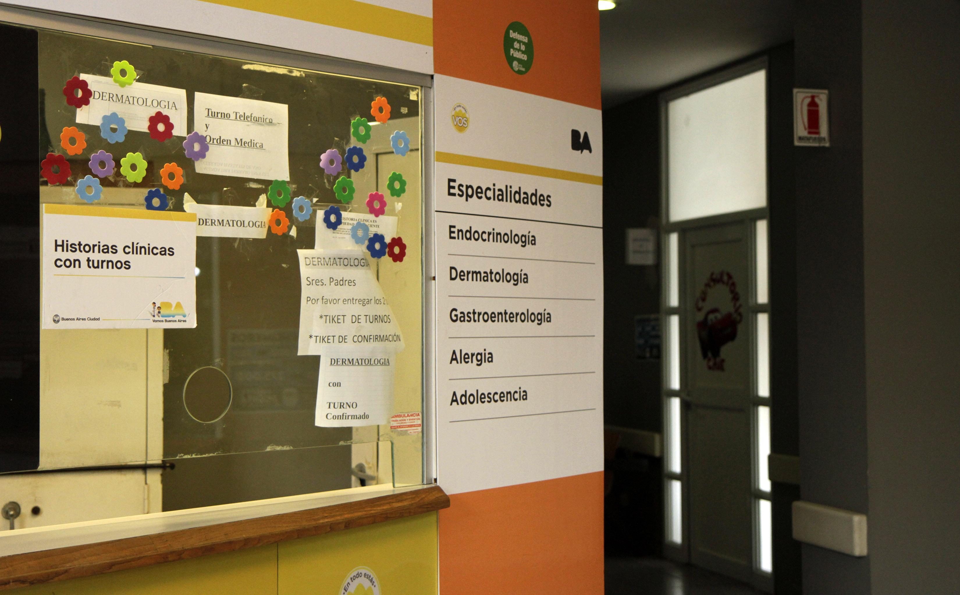 Hospital Elizalde. Foto de Sabrina Montero-gvGCBA.-