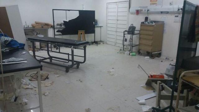 Murió en el hospital Oller y los familiares destruyeron la guardia — Solano