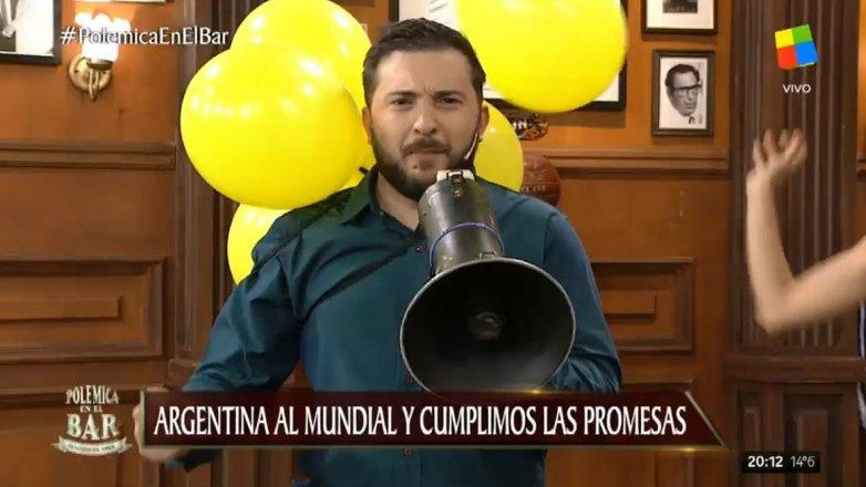 """El día que Diego Brancatelli gritó """"¡Viva Macri!"""""""