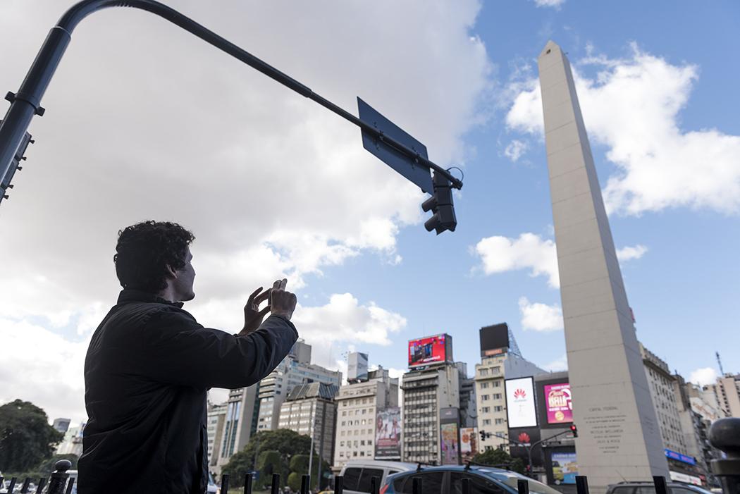 Plaza de la Republica, Obelisco. 16-05-2016