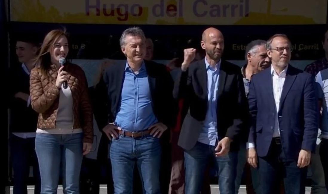 Macri y Vidal inauguraron el Metrobus de Tres de Febrero