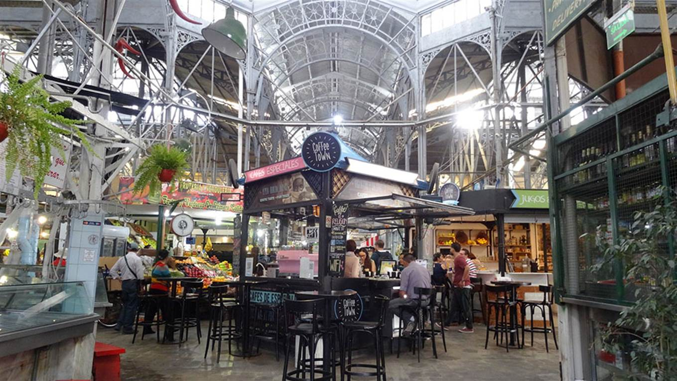 El Mercado San Telmo Abrir Por Primera Vez En La Noche De