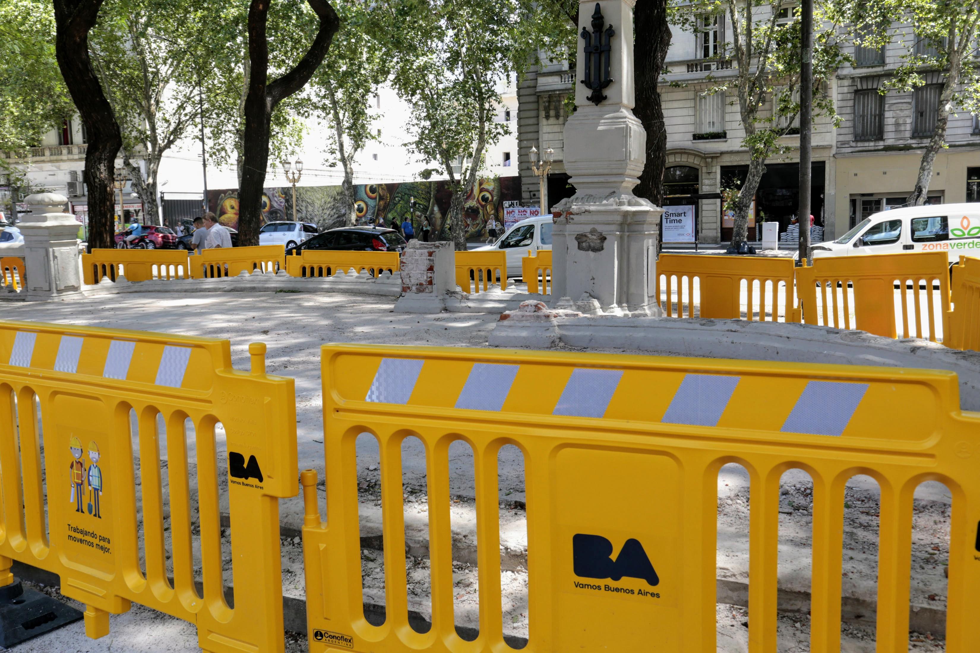 Reconstrucción Plaza del Congreso (1)