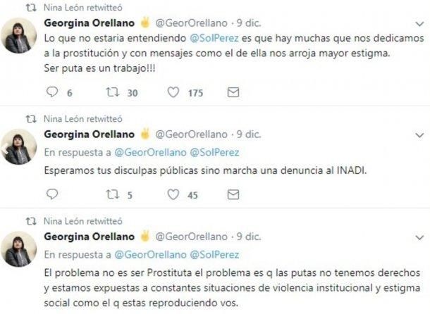 Sol Pérez podría ser denunciada ante el INADI