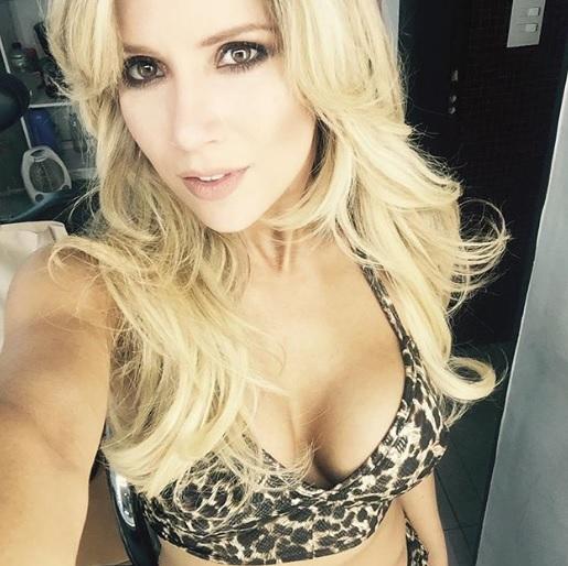 El sensual video de Laurita Fernández que publicó Daddy Yankee