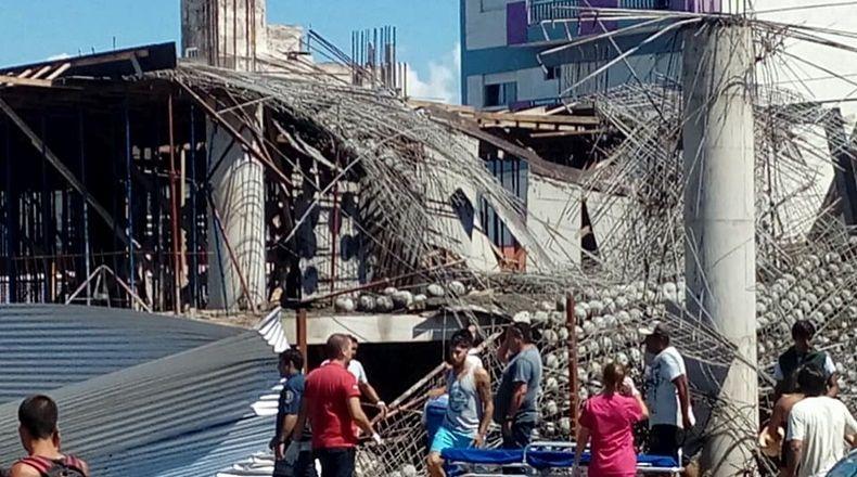 Suman cinco ya los muertos por el derrumbe en Santa Teresita