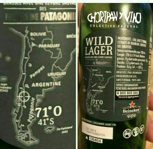 ¿Provocación? conocida cerveza saca una edición polémica sobre las Islas Malvinas