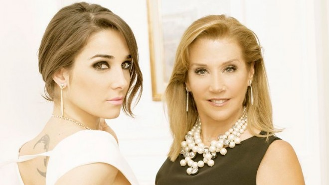 Marcela mostró por primera vez a Ámbar, la hija de Juanita Viale