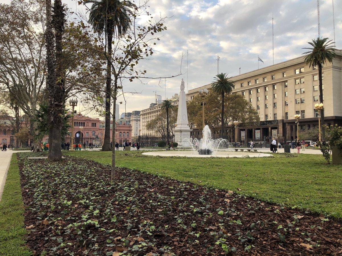 Resultado de imagen para RODRÍGUEZ LARRETA Recupera la plaza DE MAYO