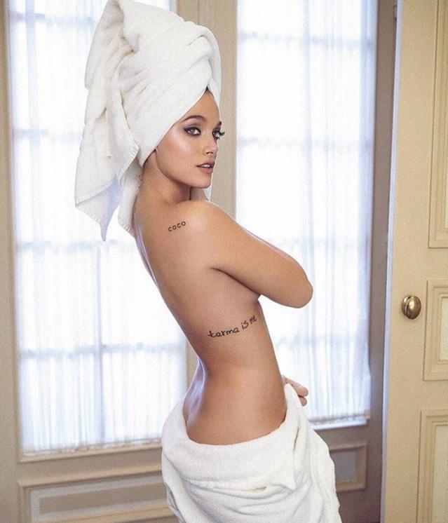 El Sensual Desnudo De Oriana Sabatini Que Derritió Instagram