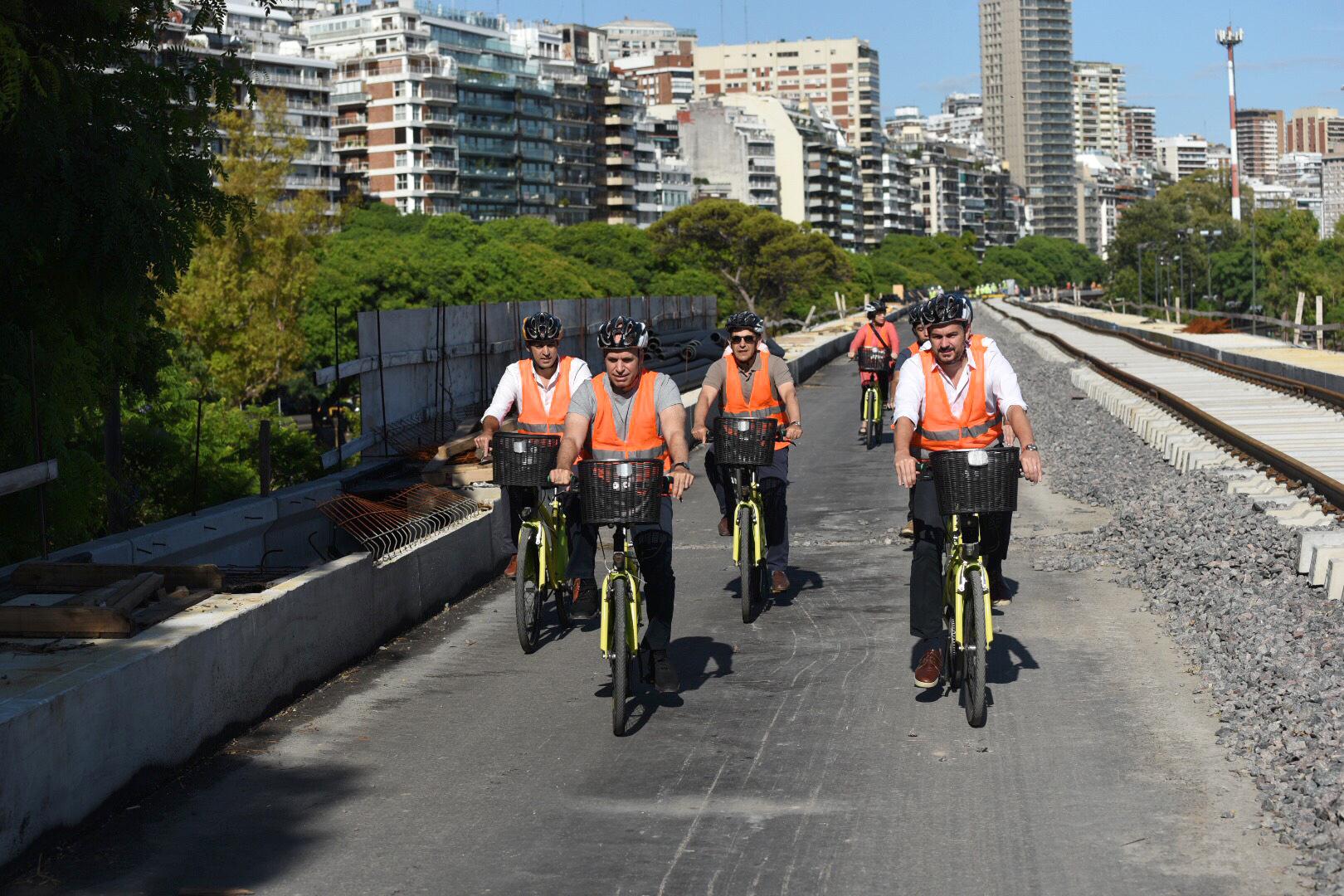 Recorrida en bicicleta Viaducto Mitre (2)