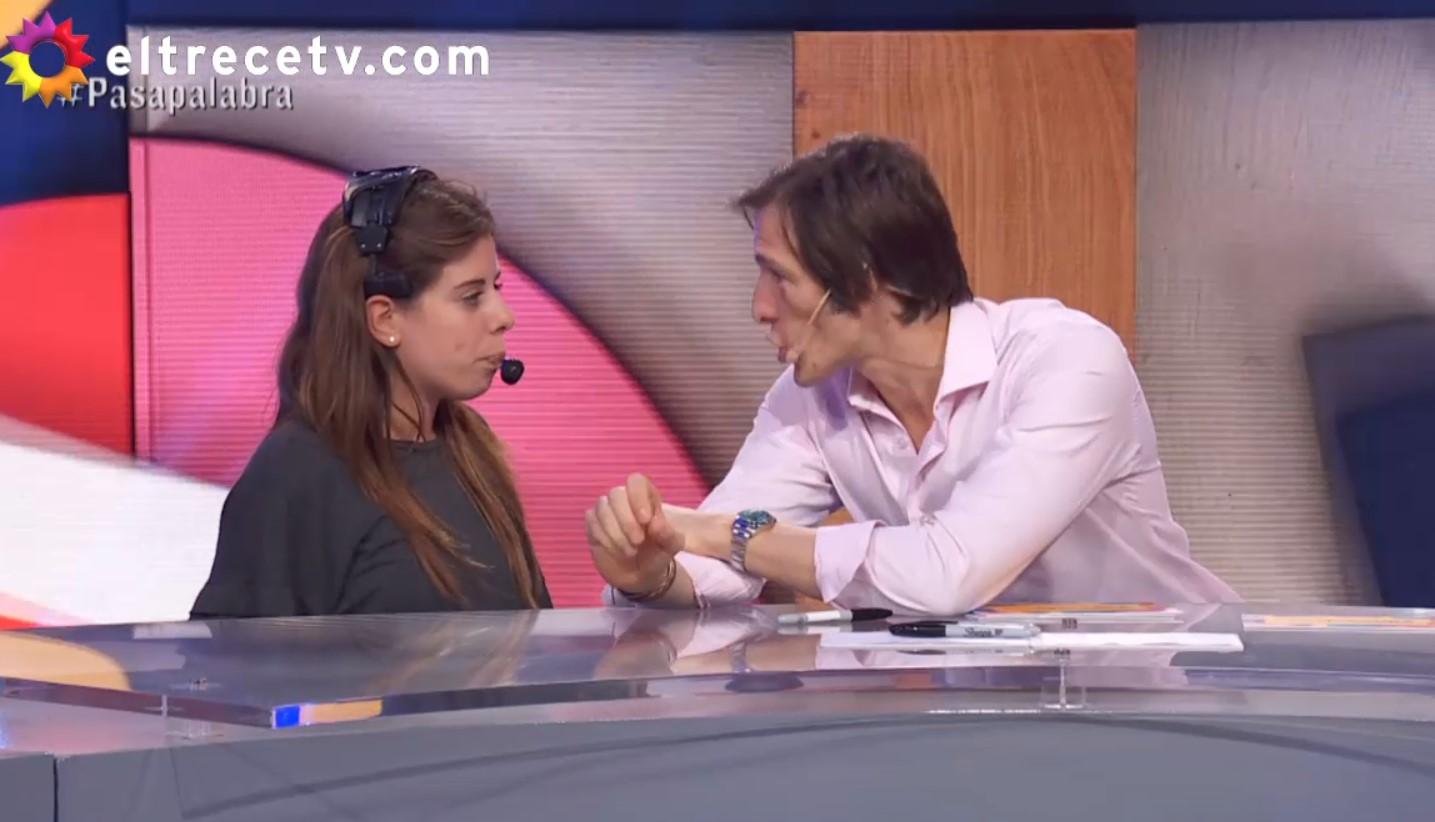 Iván de Pineda le pidió explicaciones en vivo a una productora de Pasapalabra tras una denuncia
